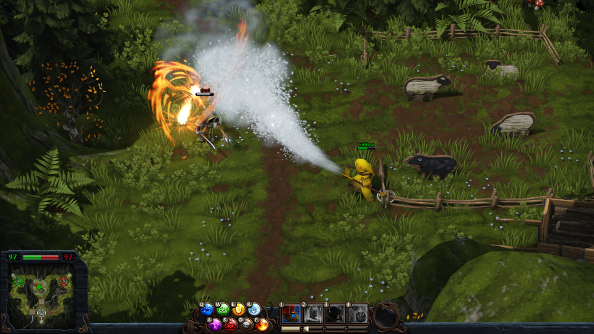 Magicka: Wizard Wars has had some open beta launch problems, but they're being dispelled