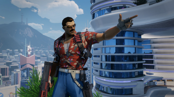 Johnny Gat pays tribute to Magnum P.I. in new Agents of Mayhem trailer