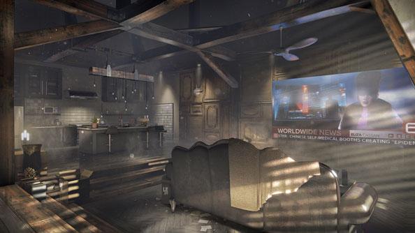 Deus Ex Mankind Divided dubai gameplay