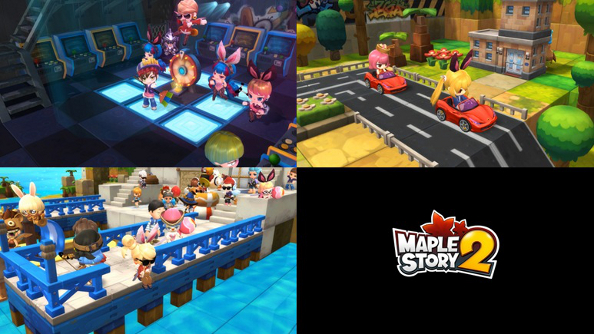 MapleStory explores the third dimension in MapleStory 2