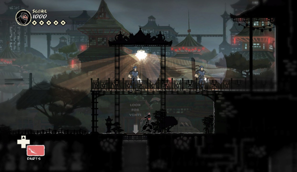 Mark of the Ninja out now on Steam
