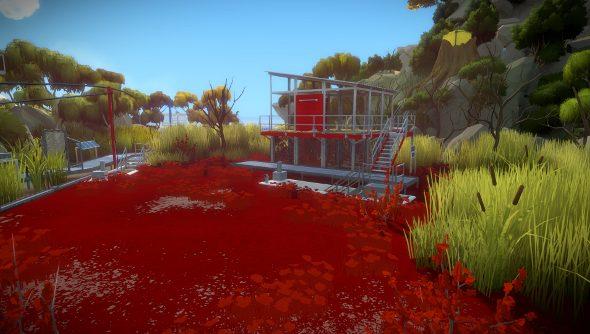 The Witness marsh screenshots