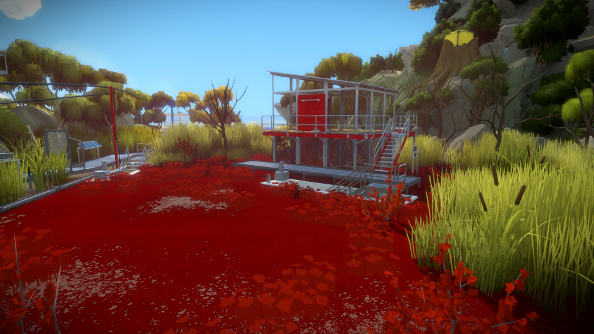 The Witness screenshots are full of sweet, marshy goodness