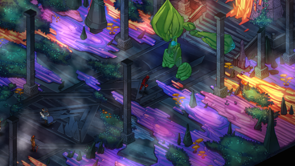 Mask-based tactical RPG Masquerada funded halfway in opening 48 hours