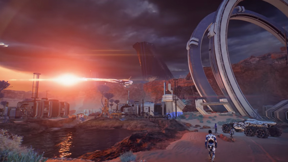 mass effect Andromeda launch trailer