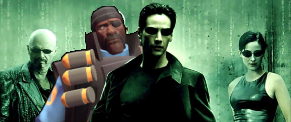 The Matrix remade in Source Film Maker