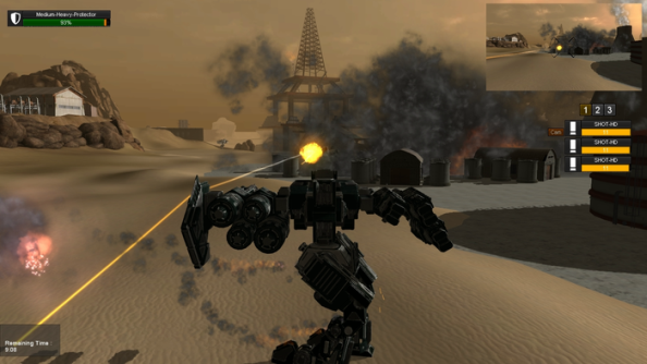 M.A.V. is the Lego of mech games