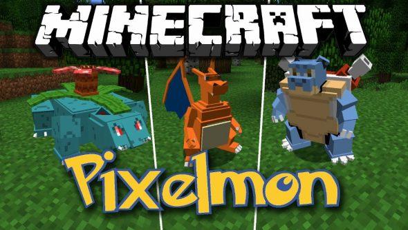 Pixelmon, Minecraft Pokemon Mod