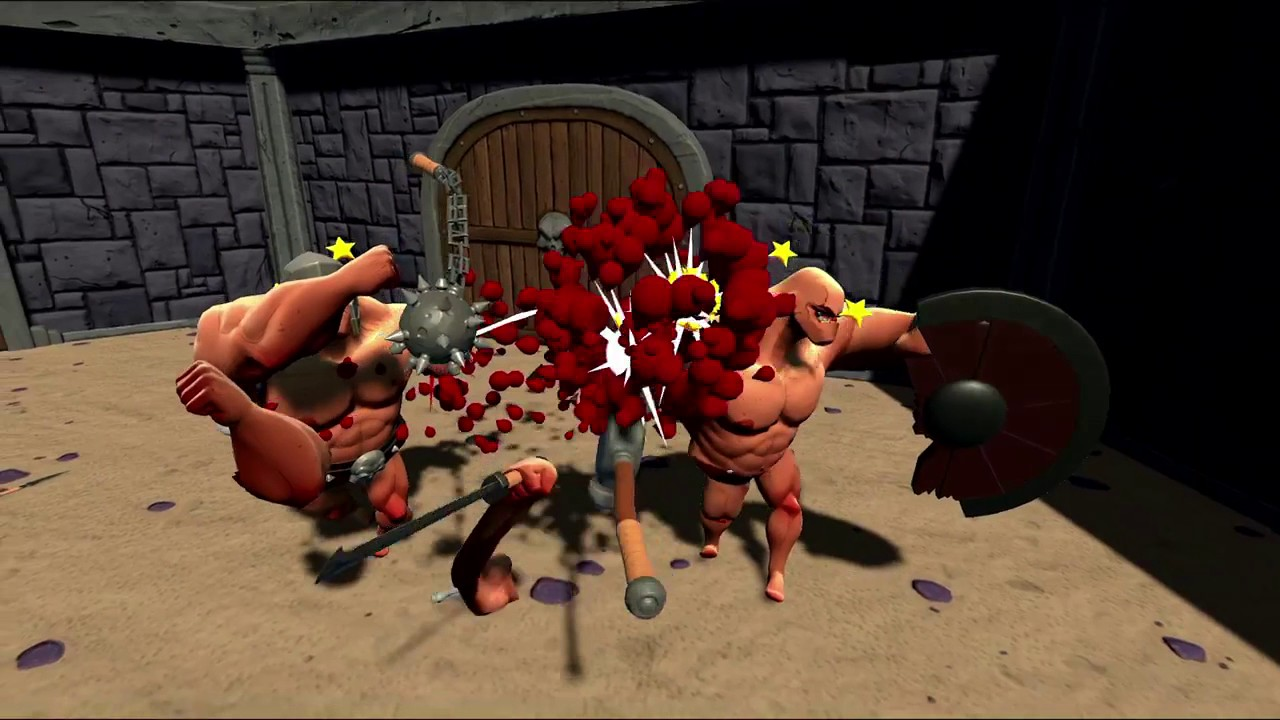 "Gorn developers thinks this is the most ""savage VR face-smashing game ever produced by man"""