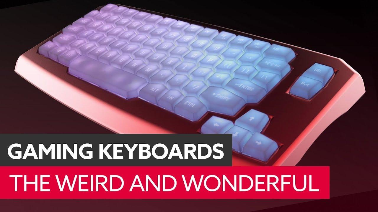 Weird and wonderful keyboards of kickstarter