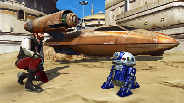 Star Wars: The Old Republic celebrates May the Fourth by showering players with free droids and bonus XP