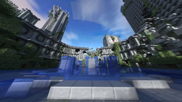 Turn your Minecraft builds into photorealistic art