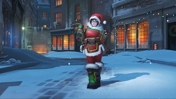 Overwatch Christmas Skins.Overwatch S Winter Wonderland Update All The Christmas