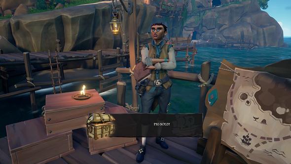 Sea of Thieves merchants