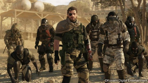 Metal Gear Online footage shows that stealth doesn't have to suffer in multiplayer