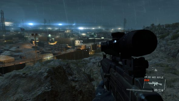 Metal Gear Solid V: Ground Zeroes FPS mod