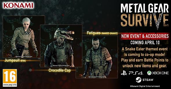 Metal Gear Survive Snake Eater event