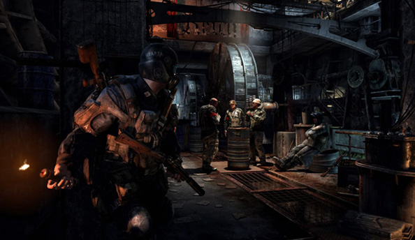 Metro: Last Light trailer shows off guns and excessive neck-slicing