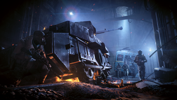 Metro Redux: death lit up.