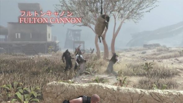 Metal Gear Survive fulton cannon