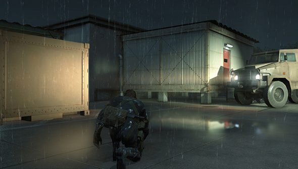 Metal Gear Solid V: Ground Zeroes PC PS4 comparison