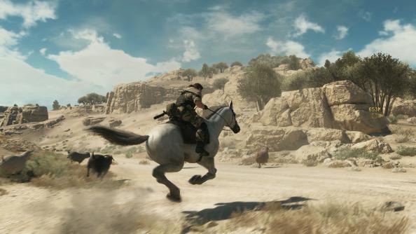 best looking games Metal Gear Solid V: The Phantom Pain