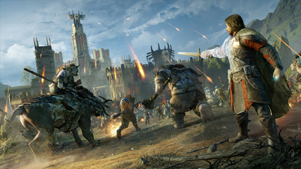 middle-earth shadow of war siege screen
