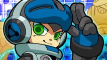Mighty No .9: not actually the name of this chap. This is Beck.