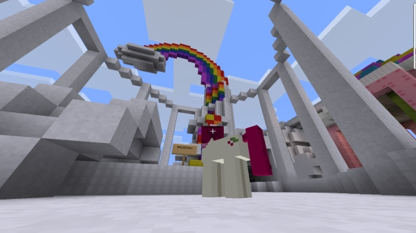 My Little Pony Minecraft mod and server is brilliant, terrifying