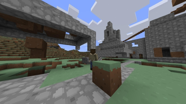 Combinecraft: Minecraft merging single and multiplayer