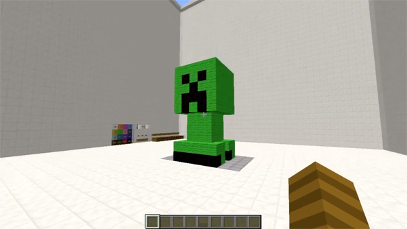 Meet Minecraft's in-game 3D printer, powered by redstone and too much brains