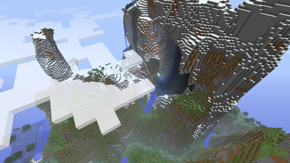 Minecraft snapshot 13w37a means now's the best time to check out new amplified terrain