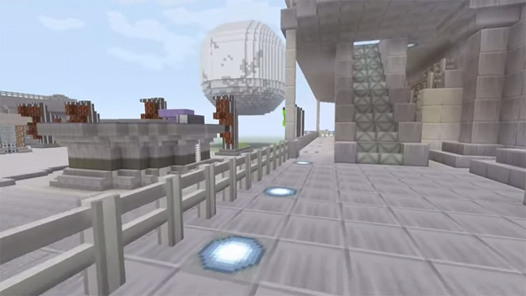 Minecraft: with its random spawns, more a game of chance than Destiny.