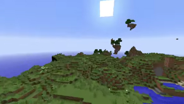 "Mojang's Minecraft 1.8 world generator heralds ""the return of floating islands"""