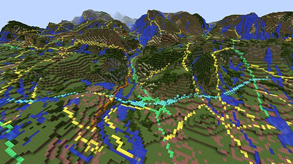 British geologists fill the gaps in Ordnance Survey's Minecraft Great Britain