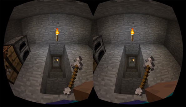 Oculus Rift assimilates Minecraft in Minecrift mod