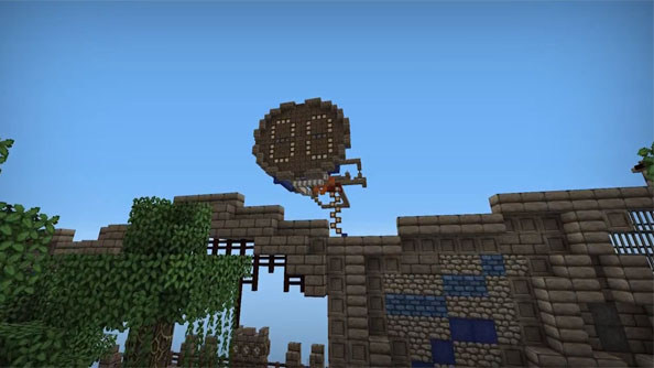 Minecraft: The Walls 2 brings crafting to PvP Survival