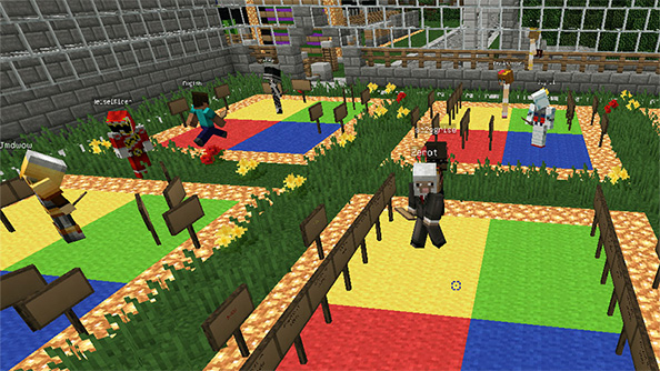 You can now learn Japanese by playing Minecraft