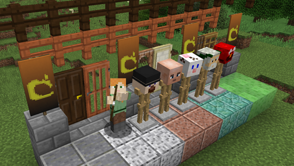 Minecraft 1.8: oh, what a bountiful day.