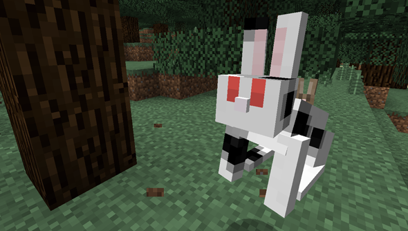 Minecraft 1.8: all about the bunnies.