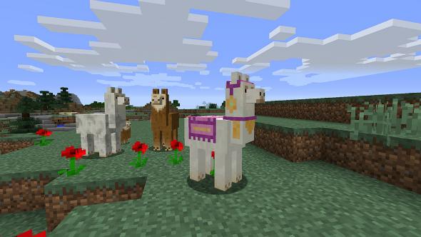 Minecraft update 111 llamas