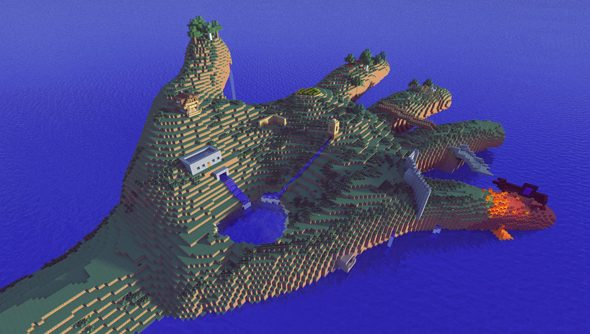 New presets will allow us to build underwater worlds after the next major Minecraft update.