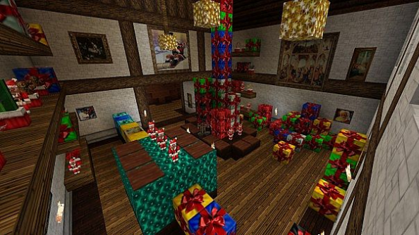 Minecraft Christmas.How To Celebrate Christmas In Minecraft Mods Maps And