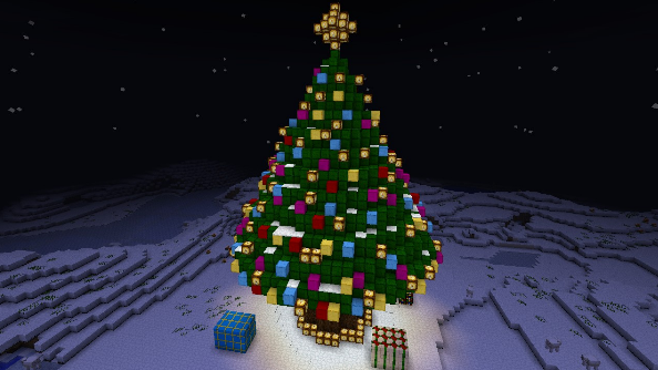 Christmas Minecraft World.How To Celebrate Christmas In Minecraft Mods Maps And