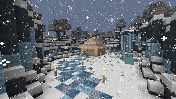 Minecraft Christmas Map.How To Celebrate Christmas In Minecraft Mods Maps And