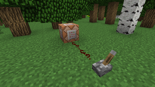 The command block: the closest Minecraft gets to sci-fi.