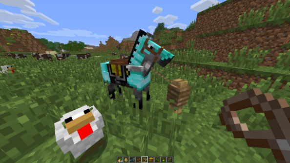 Minecraft 1.7.6 also brings an end to animals obsessed with their parents, even after growing up. Good: sounds unhealthy.