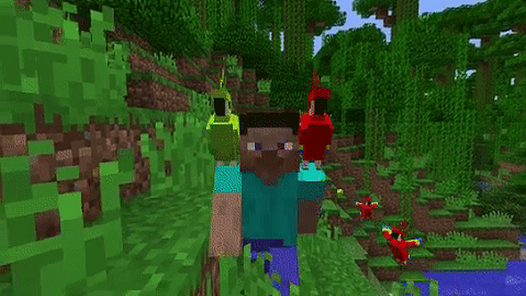 minecraft how to tame a parrot