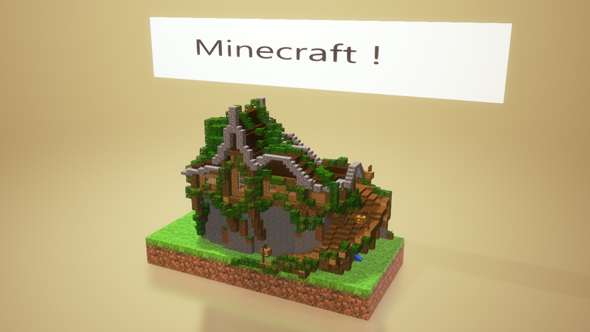 minecraft export remix 3d