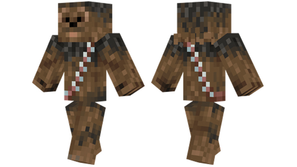 best minecraft skins Chewbacca